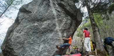 A picture from Val di Mello by Climbing Technology