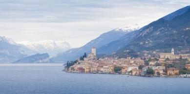 A picture from Spiaggia delle Lucertole, Torbole, Lago di Garda, ITALY by Katharina Rasp