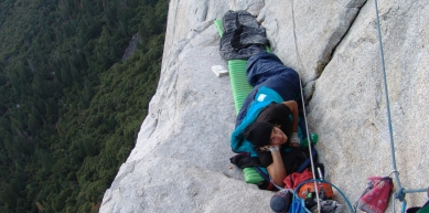 A picture from El Capitan by Konstantin Silvester Bammer