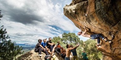 A picture from Vilafa Boulder by Fran Fabregat Photography
