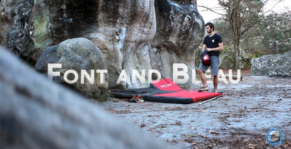 Font and Bleau spring 2016 bouldering trip in Fontainebleau