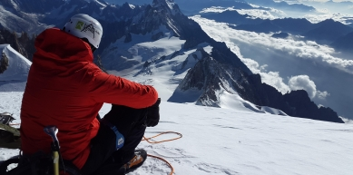 A picture from Mont Blanc / Monte Bianco by Mountainstore .cz