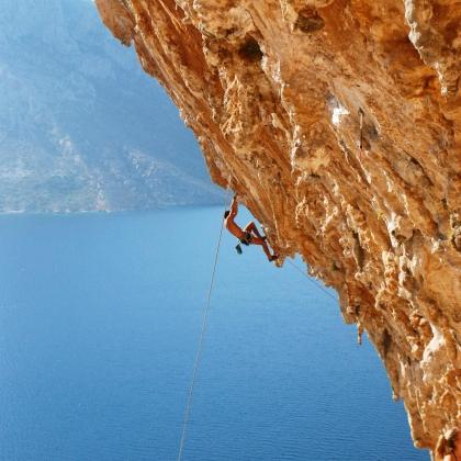 Kalymnos - Grande Grotta by Jonathan Zanzuri