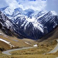 Karakoram Range by Adnan Ali  Shah