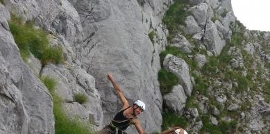 A picture from Monte Pania della Croce, Alpi Apuane by Fabio Palmieri