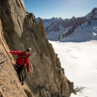 Mont Blanc du Tacul by Jan Zahula