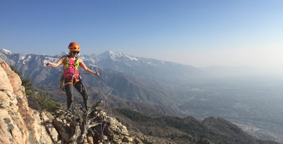 How to Train like an Alpinist with Caroline Gleich - Pt. 1 in Big Cottonwood Canyon