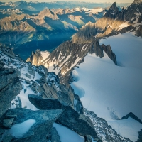 Aiguille d\'Entrèves by Quentin Coster