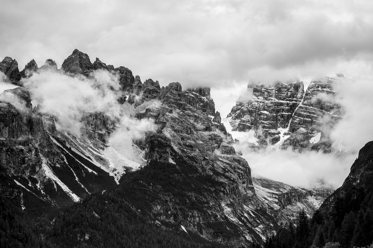 A picture from Cortina d\'Ampezzo by Pawel Bochenek