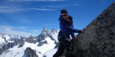 A picture from Aiguille d\'Entrèves by Lory Carpano