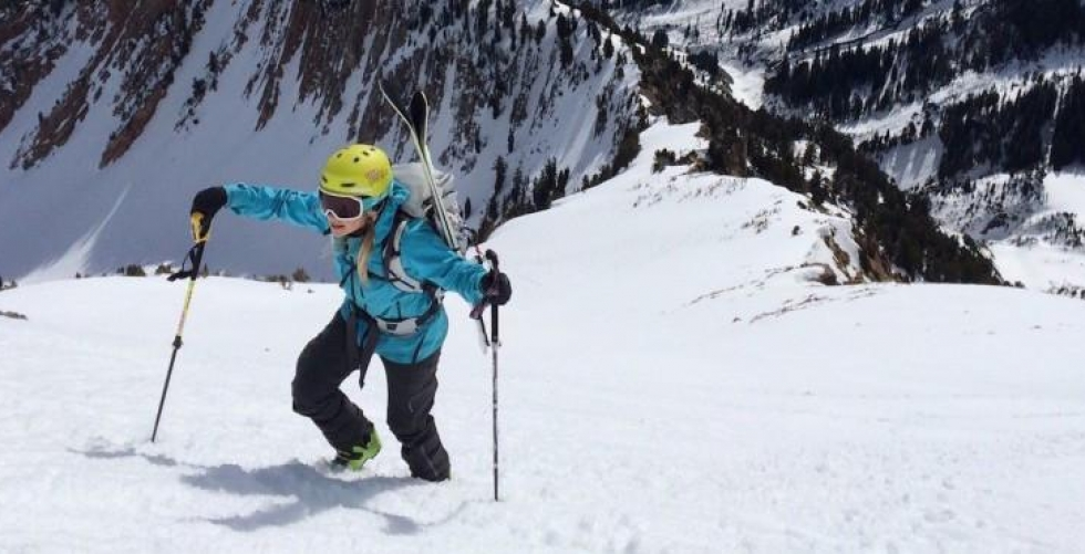 How to: Train Like an Alpinist with Caroline Gleich Pt. 2 in Big Cottonwood Canyon