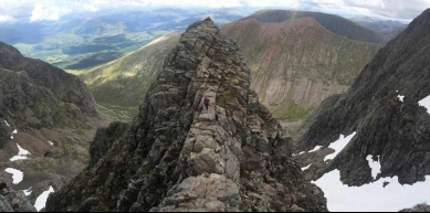 A picture from Ben Nevis by Jennifer Slater