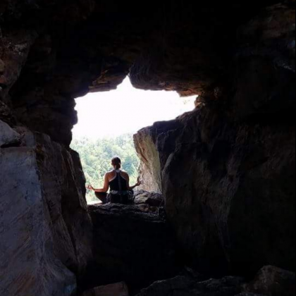 Red river gorge, tower rock by Justin Bowers