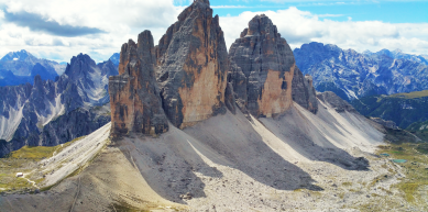 A picture from Tre Cime di Lavaredo by Etienne Bernard