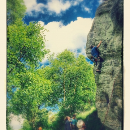 Corby\'s Crag by Ivan Cairns