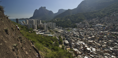 A picture from Rocinha by Pedro Gomes