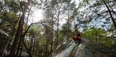 A picture from Fontainebleau by Eclimbing Shop