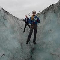 Sólheimajökull glacier, Iceland by Annelien Vekemans