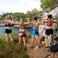 Cala Sa Nau, Mallorca by Emma Harrington