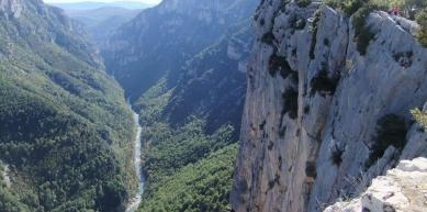 A picture from Gorges du Verdon by Deborah Bionaz