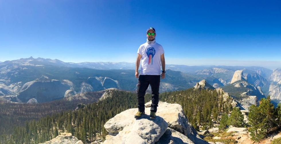 Fun by yourself in Yosemite