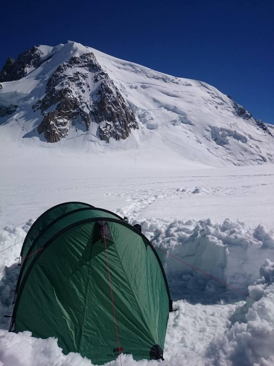 A picture from Mont Blanc du Tacul by Dimitris N.