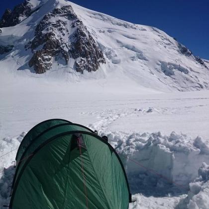 Mont Blanc du Tacul by Dimitris N.