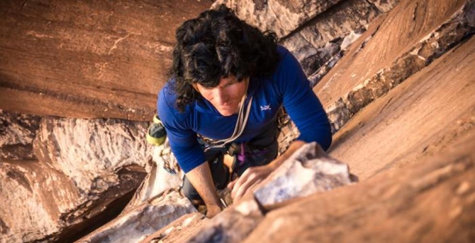 Climbing Epinephrine in Red Rocks