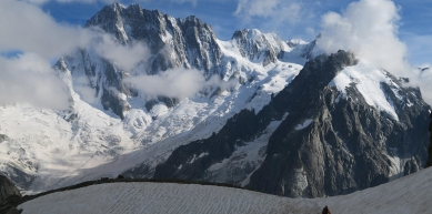 A picture from Grandes Jorasses by Explore-Share