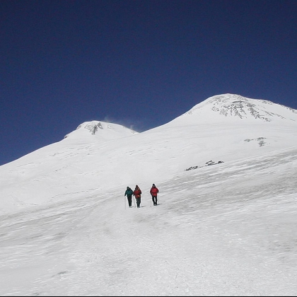 Mt Elbrus by Bob Worth