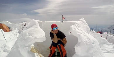 A picture from Denali / Mt. McKinley by Ilina Arsova