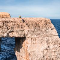 The North Coast Cliffs, Gozo by Roberta Paljar