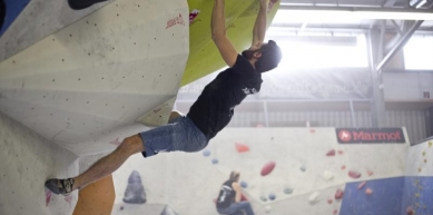 A picture from E4 Kletterhalle by BlocBusters Bouldering