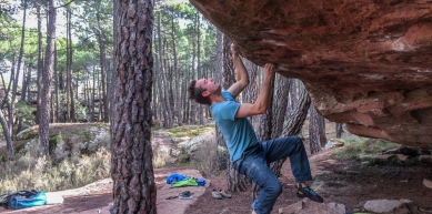 A picture from Albarracín by Fred Vionnet Grimpisme