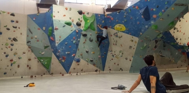 A picture from Up Climbing Bologna by Estella Rondelli