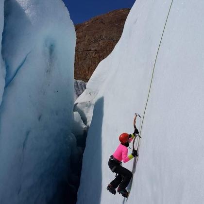 Glaciar Viedma / Viedma Glacier by Araceli Aguilar