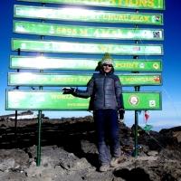 Kilimanjaro / Uhuru/Kibo Peak by Alexandra Palos