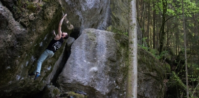A picture from Frankenjura by BlocBusters Bouldering