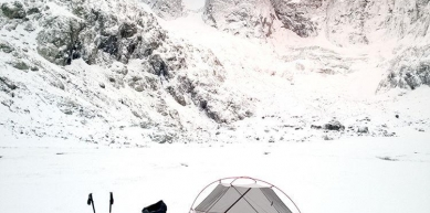 A picture from Midi d\'Ossau by MSR / Mountain Safety Research