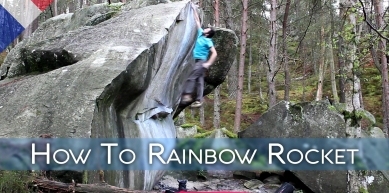 A picture from Fontainebleau by BlocBusters Bouldering