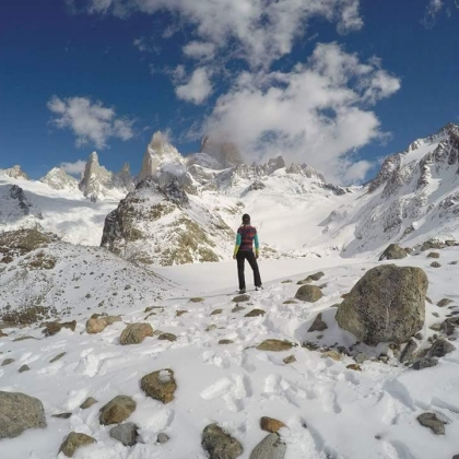 Cerro Chaltén / Fitz Roy by Araceli Aguilar