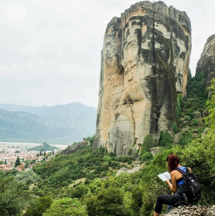 A picture from Meteora by Alexandra Stefou