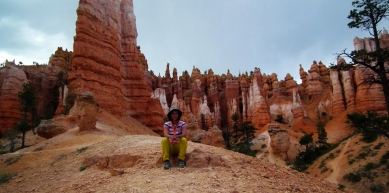 A picture from Bryce canyon by Anna Szlavi
