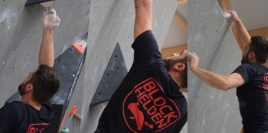 A picture from Boulder Hall Ansbach by BlocBusters Bouldering