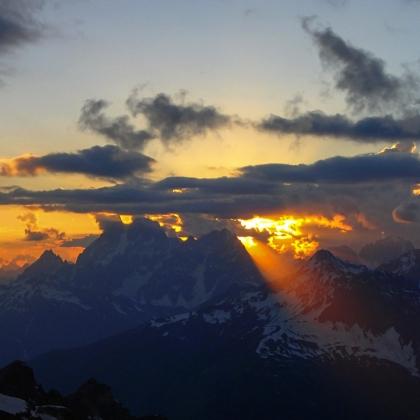 Mt. Ushba - Khergiani Route by Olena Romanova