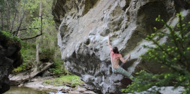 A picture from Zillertal by BlocBusters Bouldering