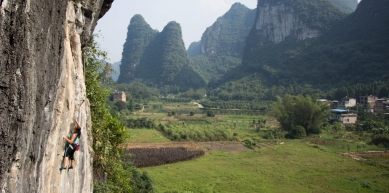 A picture from Yangshuo by Daniela Borges