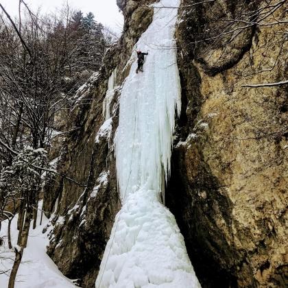 Ice-climb Slovakia by Jozef Ďuronka