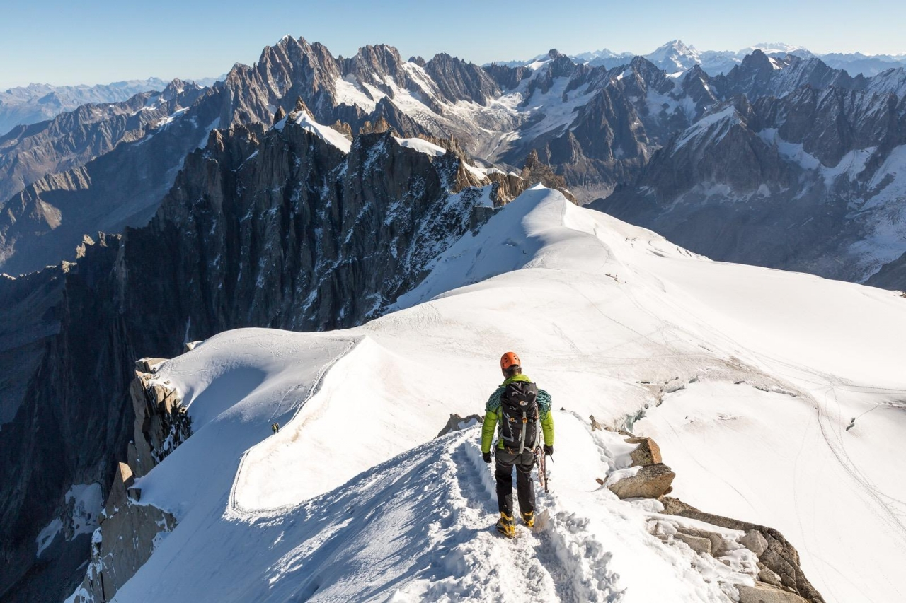 A picture from Aiguille du Midi by Robert Grew