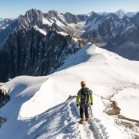 Aiguille du Midi by Robert Grew